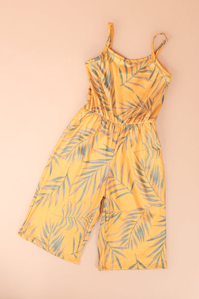 Jeans Warehouse Hawaii - DRESS RMPR 7-16 - ALOHA FRIDAY JUMPSUIT | 7-16 | By LUZ