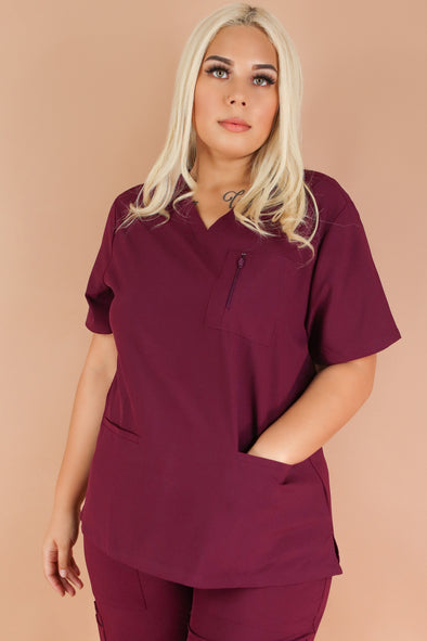 Jeans Warehouse Hawaii - PLUS SCRUB TOPS - ROAD OPENER SCRUB TOP | By MEDGEAR