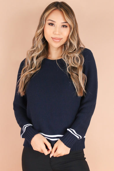 Jeans Warehouse Hawaii - PTTN LONG SLV TOPS - FALL FAVE SWEATER | By ULTIMATE OFFPRICE