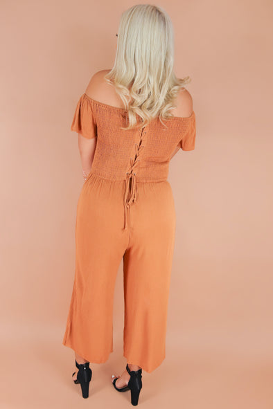Jeans Warehouse Hawaii - PLUS SOLID JUMPSUITS - HE'S NOT IT JUMPSUIT | By ZENOBIA