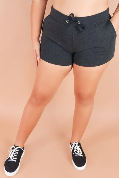 Jeans Warehouse Hawaii - PLUS Knit Shorts - ALL LOVE SHORTS | By ROSIO
