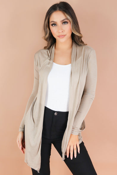 Jeans Warehouse Hawaii - LS SHRUGS/CARDIGANS - THE HILLS CARDIGAN | By HEART & HIPS