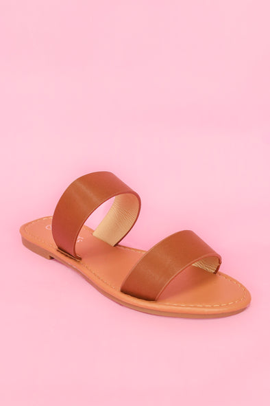 Jeans Warehouse Hawaii - FLATS SLIP ON - DAY PARTY SANDAL | By WELLS FOUNTAIN INC.