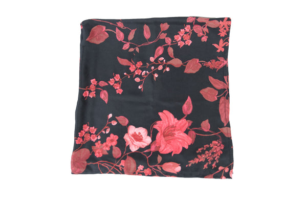 Floral Scarf - Red
