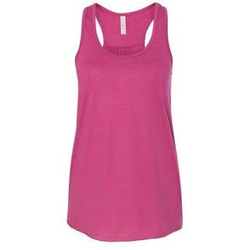 Racer Back Flowy Tank Berry