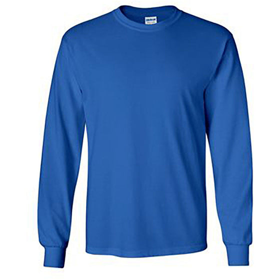 100% Ultra Cotton Long Sleeve T-Shirt royal