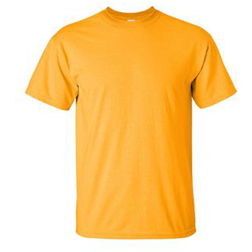 100% Ultra Cotton T-Shirt gold