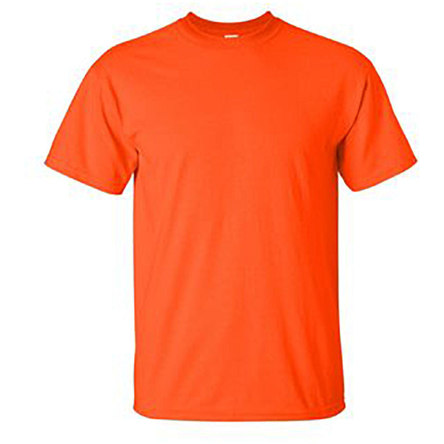 100% Ultra Cotton T-Shirt Orange