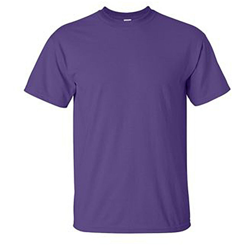 100% Ultra Cotton T-Shirt Purple