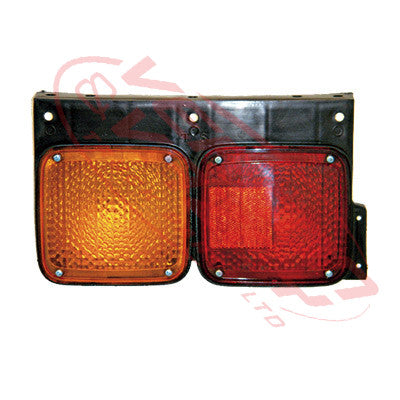 1684098-1 - REAR LAMP - L/H - RED/AMBER - NISSAN MK/LK/PK 1994-