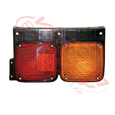 1684098-2 - REAR LAMP - R/H - RED/AMBER - NISSAN MK/LK/PK 1994-