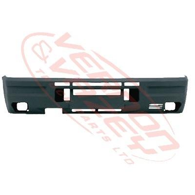 2070090-02 - FRONT BUMPER - MAT DARK GREY - IVECO DAILY 96-99