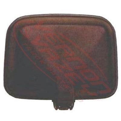 3090016-0 - MIRROR HEAD - L/H - 40mm BALL - SQUARE - ISUZU FSR/FTR/FVR 1984-94