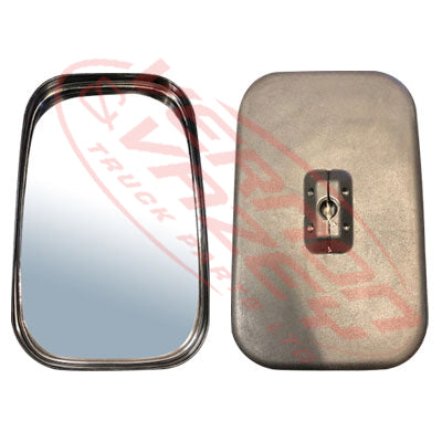 3096016-0 - MIRROR HEAD - L=R - W/OUT BALL - 170MM X 260MM - 18MM - ISUZU ELF NPR/NRR/NKR/NHR 1985-93 - UNIVERSAL