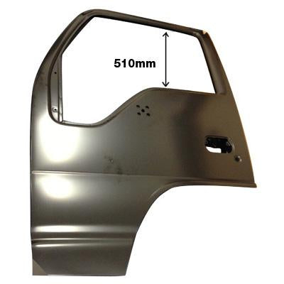 3097010-01 - FRONT DOOR SHELL - L/H - HI ROOF - AUST (HAS MIRROR HOLES) - ISUZU ELF NPR/NRR/NKR/NHR 1994-