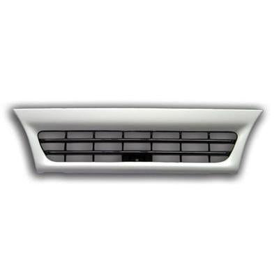 3097099-52 - GRILLE - NARROW - WHITE - 2 BAR 2001- - ISUZU ELF NPR/NRR/NKR/NHR 2001-