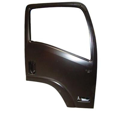 3097210-04 - FRONT DOOR SHELL - R/H - W/MIRROR HOLE & LARGE SIDE LAMP - ISUZU NKR/NPR 2009-