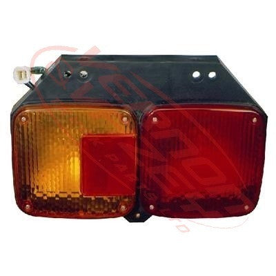 3190098-1 - REAR LAMP - L/H - W/SQUARE SOCKET - HINO ECONO FC/MFB 1998-