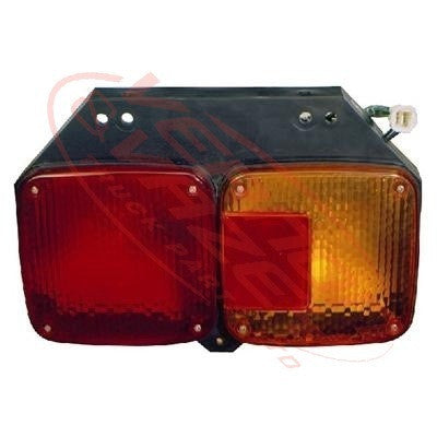 3190098-2 - REAR LAMP - R/H - W/SQUARE SOCKET - HINO ECONO FC/MFB 1998-