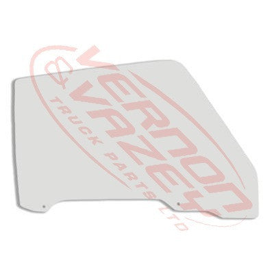 3485010-82 - GLASS - FRONT DOOR - R/H - MAZDA T3500/T4000/T4100 1985-89     WE