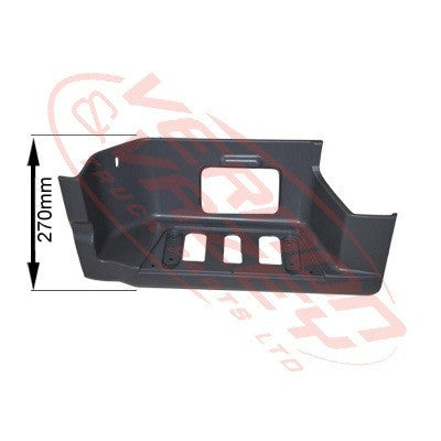 3575104-1 - STEP PANEL - LOWER - L/H - 270mm HIGH - MERCEDES BENZ ACTROS - MP2 LOW ROOF