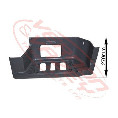 3575104-2 - STEP PANEL - LOWER - R/H - 270mm HIGH - MERCEDES BENZ ACTROS - MP2 LOW ROOF