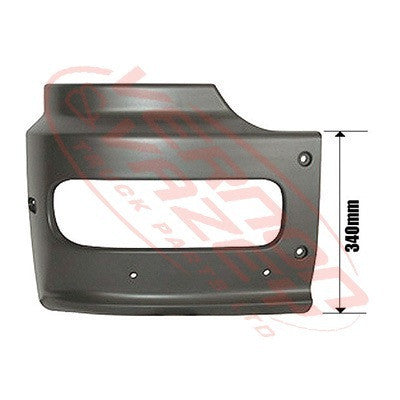 3576091-2 - FRONT BUMPER END - HIGH CAB - R/H - MERCEDES BENZ ATEGO
