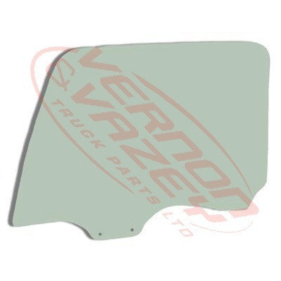 3788010-86 - GLASS - FRONT DOOR - R/H - MITSUBISHI FP517/FP519/FP350 1997-