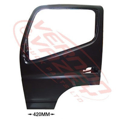 3798210-05 - FRONT DOOR ASSY - L/H - W/MIRROR ARM HOLE - W/CAB - MITSUBISHI CANTER FE7/FE8 2011-
