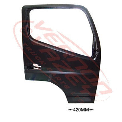 3798210-06 - FRONT DOOR ASSY - R/H - W/MIRROR ARM HOLE - W/CAB - MITSUBISHI CANTER FE7/FE8 2011-