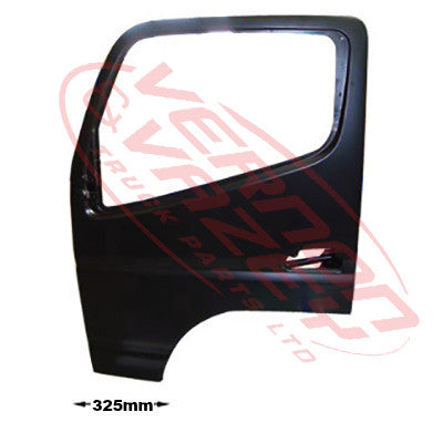 3798210-07 - FRONT DOOR ASSY - L/H - W/MIRROR ARM HOLE - N/CAB - MITSUBISHI CANTER FE7/FE8 2011-