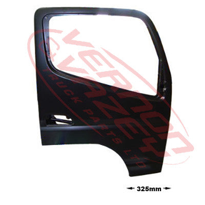 3798210-08 - FRONT DOOR ASSY - R/H - W/MIRROR ARM HOLE - N/CAB - MITSUBISHI CANTER FE7/FE8 2011-