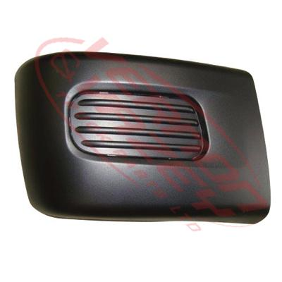 3798290-28 - FRONT BUMPER END - R/H - W/O FOG HOLE - WIDE - 270MM DEEP - MITSUBISHI CANTER FE 2011-