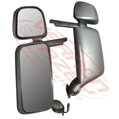 6593016-01 - MIRROR - ELECTRIC/HEATED - L/H - W/AUXILIARY - SCANIA P/R TRUCK - 2003-