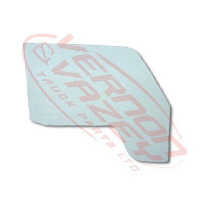 8185010-86 - GLASS - FRONT DOOR - R/H - ONE PCE - TOYOTA DYNA BU60/BU85/BU66/BU96 1984-94
