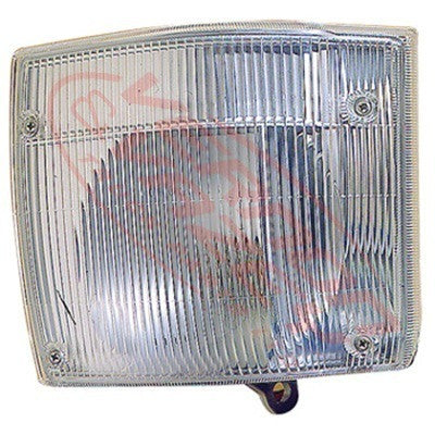 8186097-1 - CORNER LAMP - L/H - LOWER - CLEAR - TOYOTA DYNA BU102/BU212  1995-2000