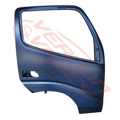 8187010-08 - FRONT DOOR - R/H - W/MIRROR AND REFLECTOR, W/O LAMP HOLE - TOYOTA DYNA XZU320 2000-