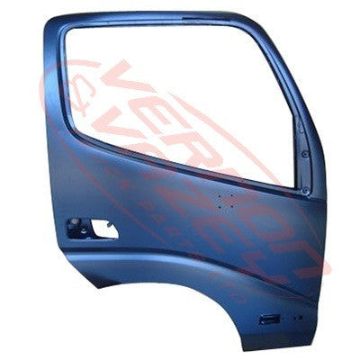 8187010-10 - FRONT DOOR - R/H - W/MIRROR AND REFLECTOR AND LAMP HOLE - TOYOTA DYNA XZU320 2000-