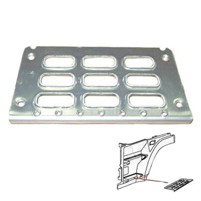 9010004-01 - STEP ALLOY - CENTRE - L=R - VOLVO FH - 1995-