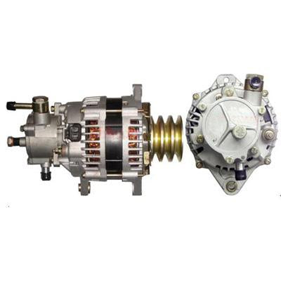 IS-ALT-4HF1-2 - ALTERNATOR 24V 80A - ISUZU 4HF1/4HG1/4HJ1/4HK1 - WITH VACUUM PUMP
