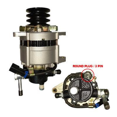 IS-ALT-4HF1 - ALTERNATOR 24V 60A - ISUZU - NPR, 4HF1, 4HE1