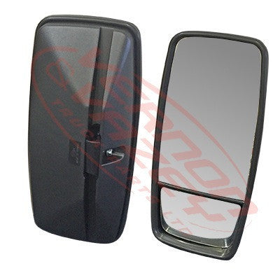 MIR-1675-5R - MIRROR - 430MM X 200MM - SPLIT GLASS - R/H - UNIVERSAL