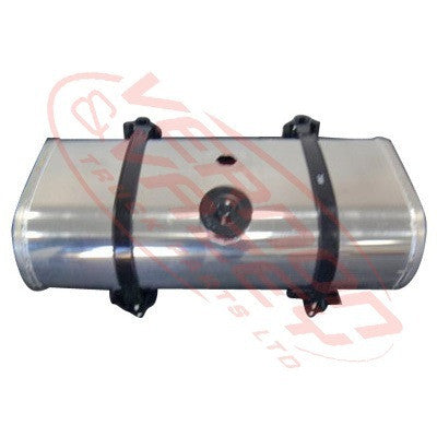 TANKRT100L-01 - ALLOY DIESEL TANK - RECTANGULAR - WITH BRACKET - UNIVERSAL - 250X450X960MM - 100L