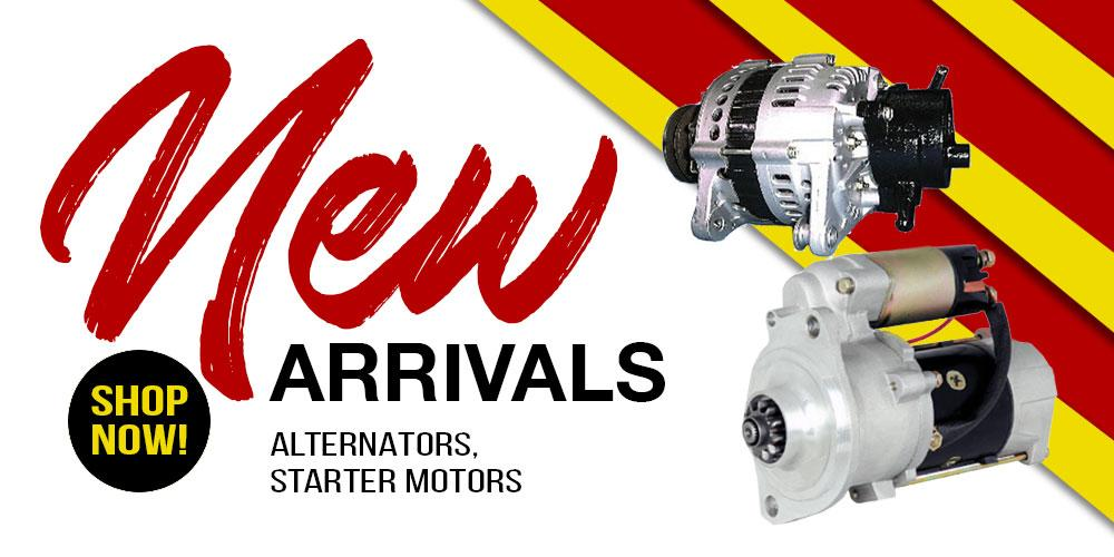 New container stock arrivals-manifold,alloy tanks and more