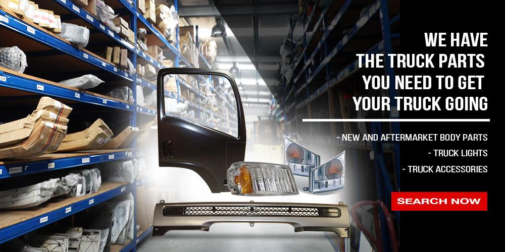 The truck parts you need. Truck body parts, automotive lamps, automotive accessories