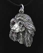 Afghan Silver Plated Pendant