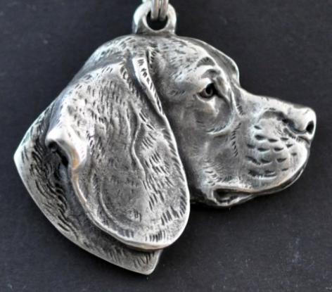 Beagle Silver Plated Pendant