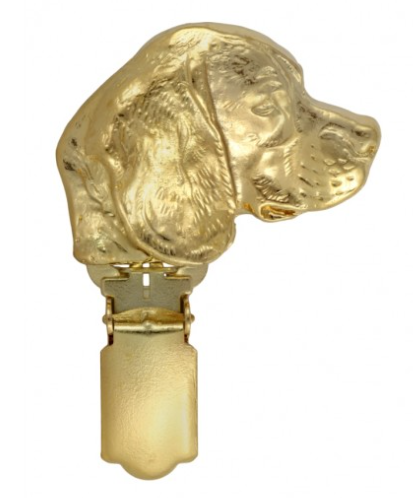 Beagle Hard Gold Plated Show Clip