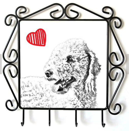 Bedlington Terrier Lead Hanger