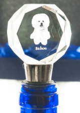 Bichon Crystal Wine Stopper